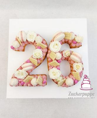 Numbercake zum 26. Geburtstag von Drazana