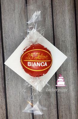 Lindorkugel zum 25. Geburtstag von Bianca
