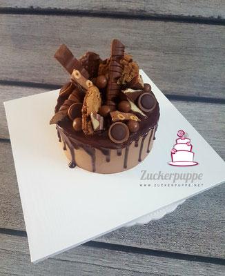 Dripped Cake für Schokoholics, zum 41. Geburtstag von Caroline