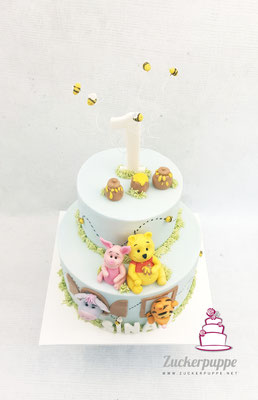 Winnie Pooh und seine Freunde zum ersten Geburtstag von Sinan