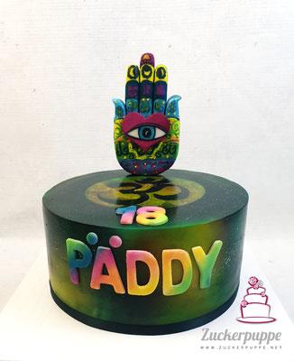GOA - Torte zum 18. Geburtstag von Päddy