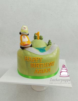 Cory der Flitzer zum ersten Geburtstag von Arian