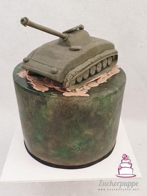 Panzer BMP-1 zum Geburtstag von Philipp
