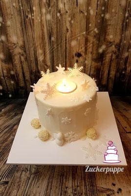 Kerzen - Torte für die Lady's Night in der Sticki51 in Teufen