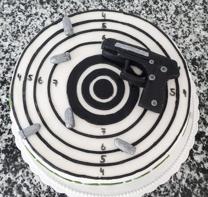 Zielscheibe - zum Beispiel für einen Schützenverein