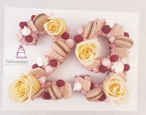 Numbercake zum 29. Geburtstag von Tina
