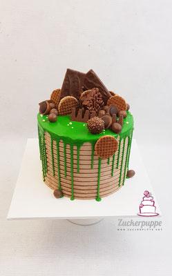 Dripcake mit Lieblingsschöggeli zum 26. Geburtstag von Axel