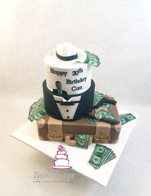 Mafia - Torte zum 30. Geburtstag von Can