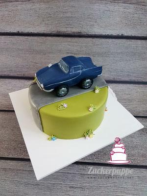 Volvo Oldtimer zum 21. Geburtstag von Fabian