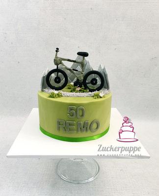 Mountainbike zum 50. Geburtstag von Remo