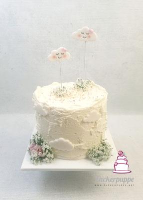 WölkchenTorte zum ersten Geburtstag von Chiara