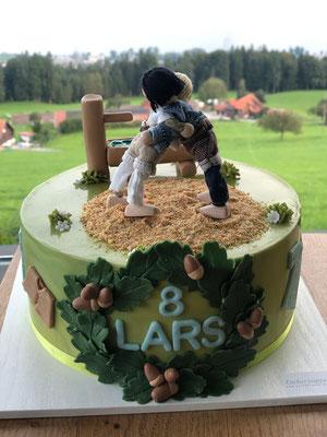 SchwingerTorte  zum 8. Geburtstag von Lars