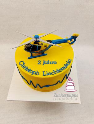 Rettungshelikopter ap3 Christoph Liechtenstein zum 2jährigen Jubiläum