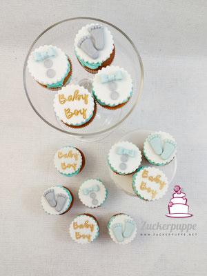 It's a boy - Cupcakes für Sabrina's Babyparty