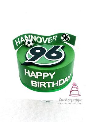 Hannover 96 Torte zum 38. Geburtstag von Andreas