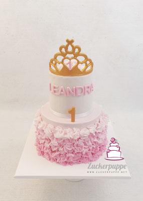 Prinzessinnentorte zum ersten Geburtstag von Leandra