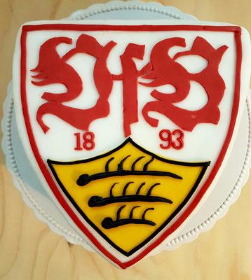 VfB -Stuttgart - Torte zum 24. Geburtstag von meinem Schatz