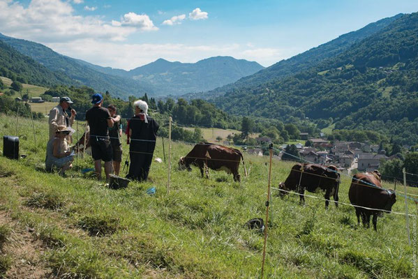 Le loto bouse: «qu'est ce que c'est que ça?» Une tombola paysanne disons! Imaginez 5 vaches dans un parc délimité qui bousent sur des cases correspondantes au numéro des gagnants. Le tout vérifié par monsieur le juge spécialisé dans le domaine!