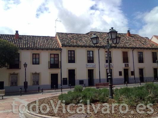 abril de 2012. Avenida Real vista desde el Centro Social Polivalente (Imagen: todoVicálvaro.es)