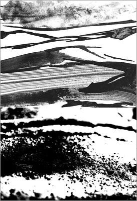 Fil de l'eau 29. Montage photographique, impression jet d'encre contrecollée sur dibond, 70 x 50 cm.