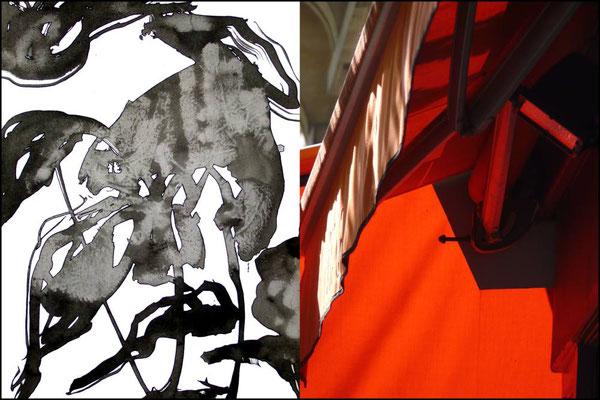 Oxymore 1 bis montage contrecollé sur aluminium 60 x 40 cm