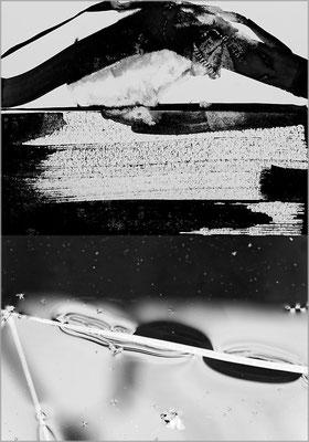 Fil de l'eau 35. Montage photographique, impression jet d'encre contrecollée sur dibond, 70 x 50 cm.