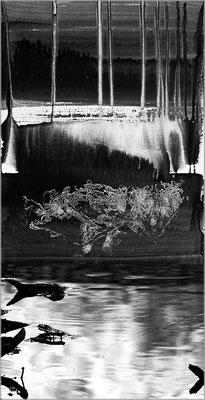 Fil de l'eau 51. Montage photographique, impression jet d'encre contrecollée sur dibond, 70 x 50 cm.