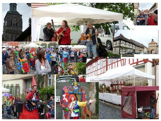 BioBand Ladybirds Stadtfest Königsberg
