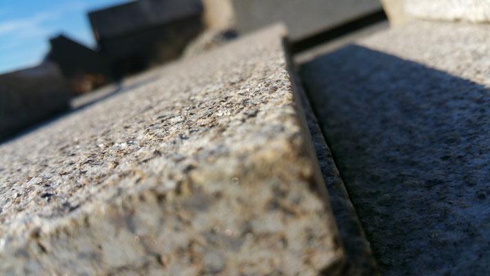 dallage granit opus romain épaisseur 2cm et 3cm