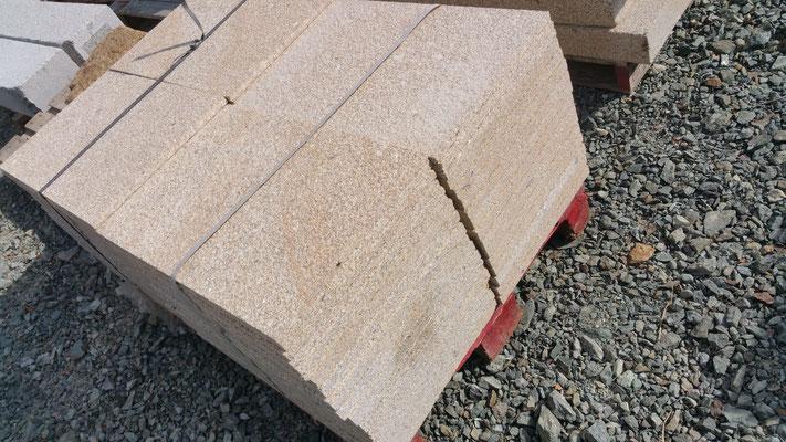 dallage granit jaune bouchardé 60*40 ep2cm ou 3cm