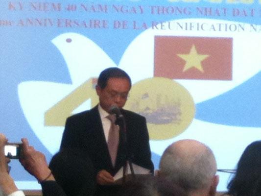 Le nouvel Ambassadeur de la RSVN, SE Nguyen ngoc Son