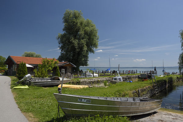 Fischerboote, Fraueninsel