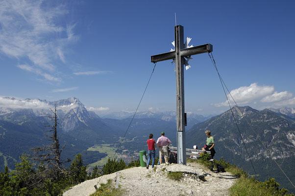 Gipfelkreuz des Ameisenbergs (Wank)