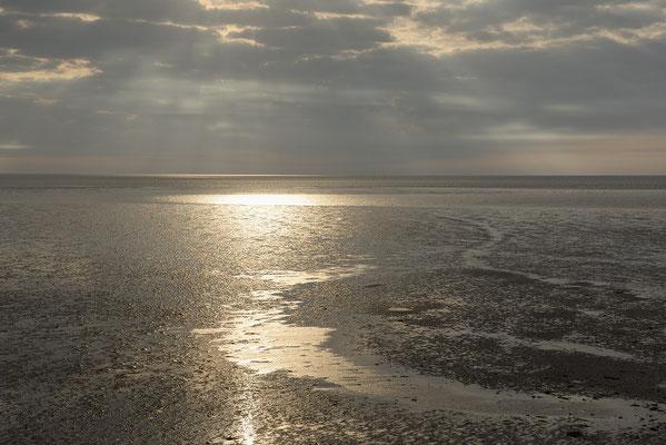 Lichtstimmung im Wattenmeer