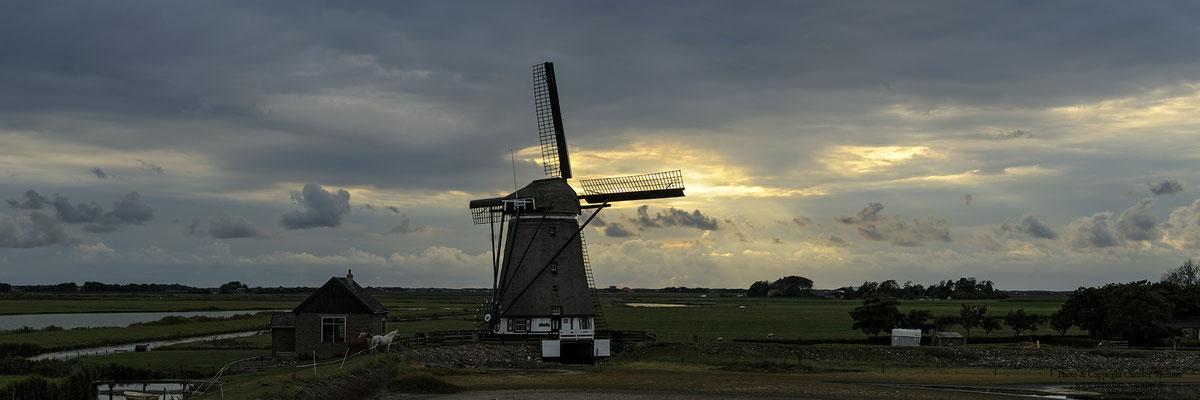 Mühle bei De Bol, Texel (NL)