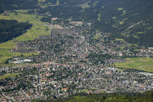 Garmisch-Partenkirchen, Blick vom Wank