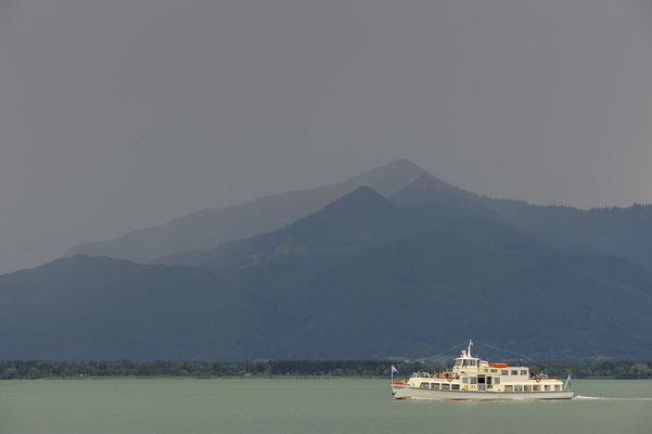 Ausflugsboot der Chiemsee Schifffahrt