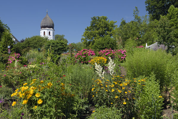 Klostergarten auf der Fraueninsel
