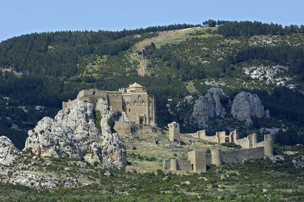 Castillo de Loarre, bei Huesca (E)