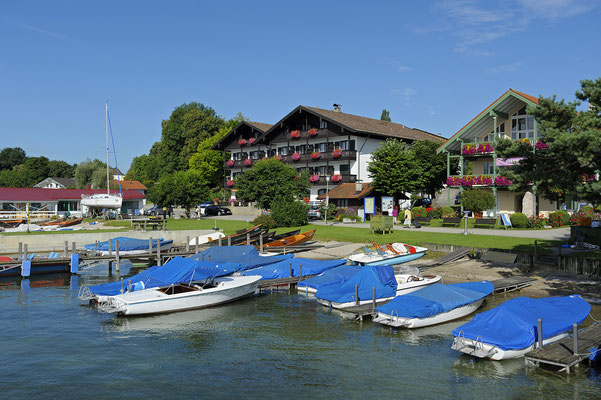 Boote in Gstadt