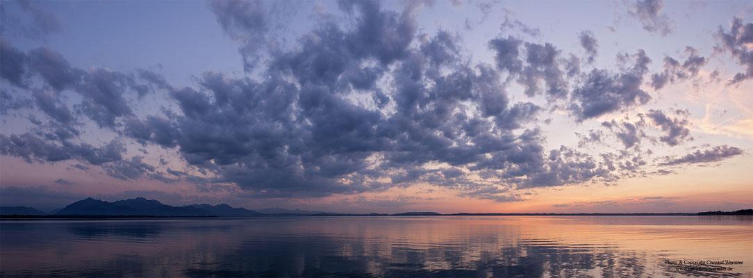 Chiemsee nach Sonnenuntergang (D)