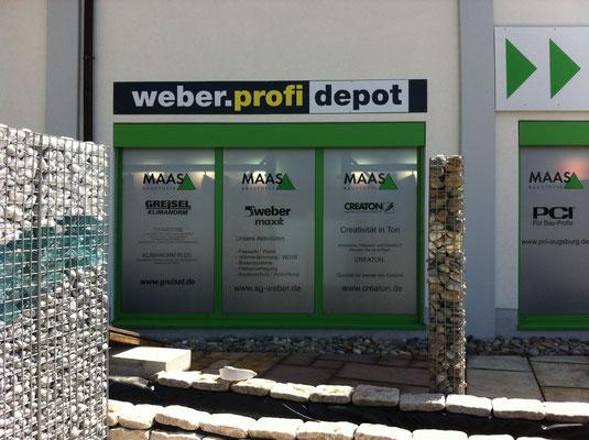 Blickwerbung Crailsheim - Werbebeschriftung, Fassadenwerbung, Türenschild im Kreis Schwäbisch Hall