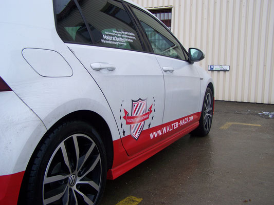 Autoaufkleber Firmenbeschriftung, Fahrzeugfolierung, Car Wrapping, Fahrzeugbeschriftung - Blickwerbung aus Crailsheim