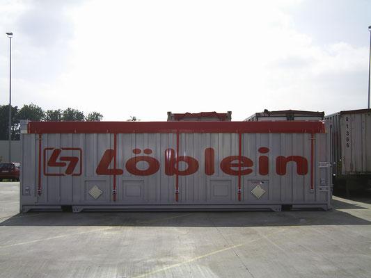 LKW Beschriftung Transporter und Firmenbeschriftung, Teilbeklebung und Vollverklebung Löblein - Blickwerbung aus Crailsheim