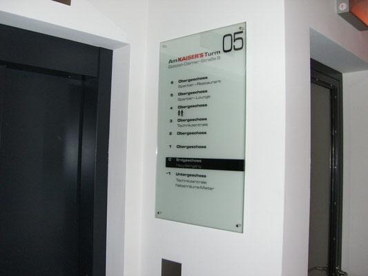 Blickwerbung Crailsheim - Schild Plexiglas im Kreis Schwäbisch Hall