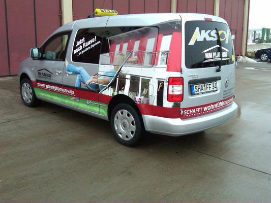 Firmenbeschriftung, Fahrzeugfolierung, Car Wrapping, Fahrzeugbeschriftung - Blickwerbung aus Crailsheim