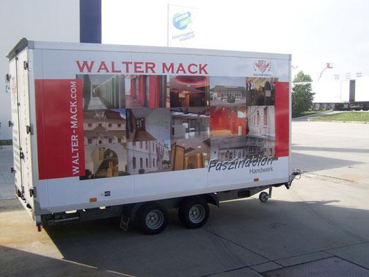 Trailer Werbung, LKW Beschriftung Transporter und Firmenbeschriftung, Vollverklebung - Blickwerbung aus Crailsheim