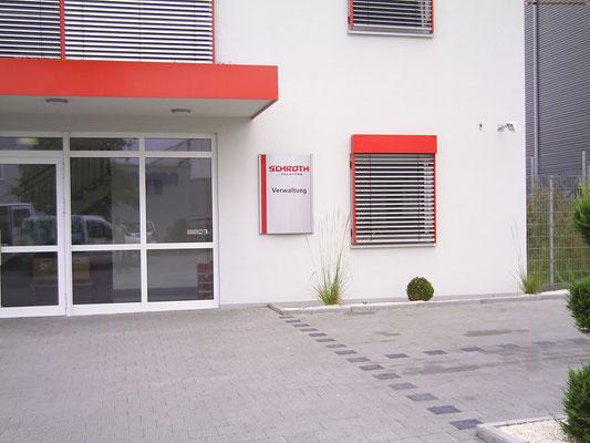 Blickwerbung Crailsheim - Werbeschild, Schild im Kreis Schwäbisch Hall