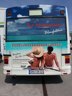 Trailer Werbung, LKW Beschriftung Transporter und Firmenbeschriftung, Anhänger Vollverklebung - Blickwerbung aus Crailsheim