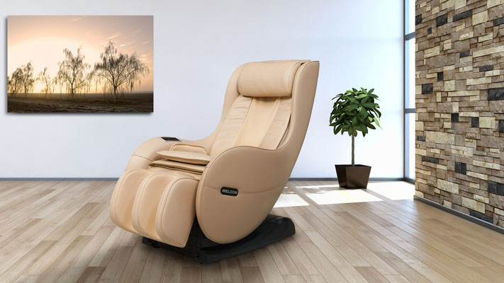 Massagesessel WELCON EASYRELAXX in beige